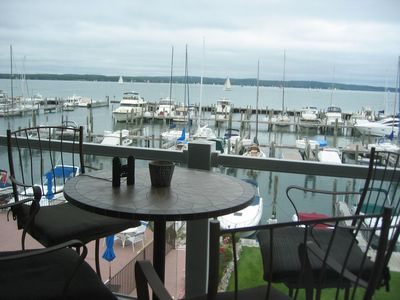 Photo for Perfect Waterfront Setting With Top-Floor Views Overlooking Lake Charlevoix