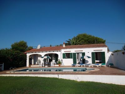 Photo for Detached villa with private swimming pool in landscaped gardens.