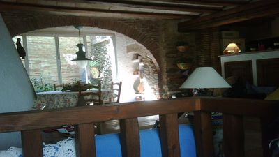 Photo for and well equipped rustic house in the center of Port de la Selva