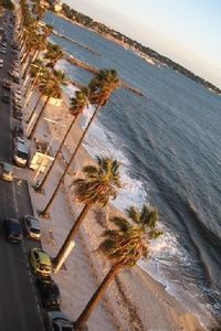 Photo for Beautiful waterfront view bay of Cannes and Juan les Pins - superb studio
