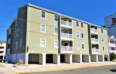 Photo for 2nd Floor Beach Block 3 bedroom, 1 1/2 bath unit in the Atrium Condominiums which is well maintained,