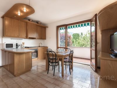 Photo for Spacious Ghisallo apartment in Bellagio with WiFi, private terrace & balcony.