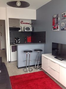 Photo for Studio and parking in Golden Square Antibes