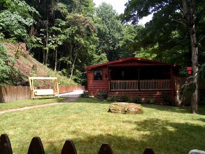 Photo for Secluded Cabin 3Bed/3Bath Max 6 people 2 King Masters,15 Minutes To Nashville