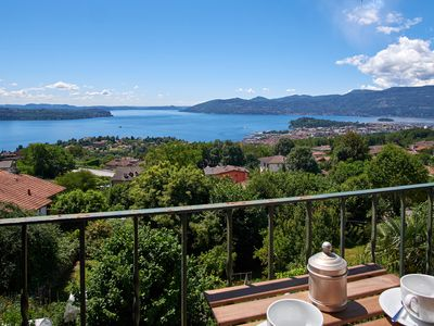 Photo for Historic four-room detached house with wonderful lake view