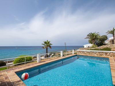 Photo for Villa with sea access and nearby the sandy beach, Menorca