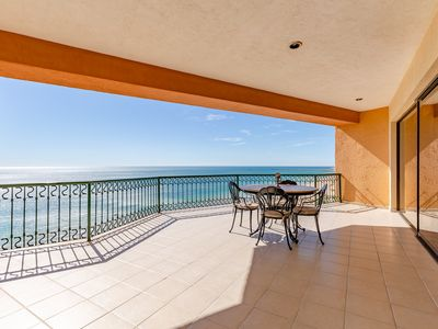 Photo for SSE 901 Awesome ocean front 9th floor condominium at the Sonoran Sea Resort