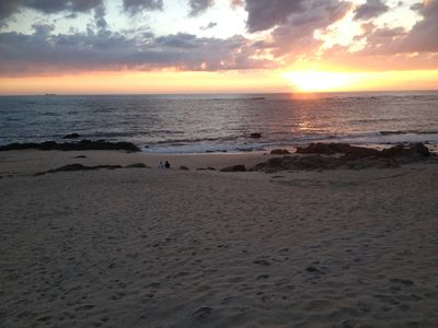 Photo for 2 bedroom apartment on the 1st line of the beach of Vila do Conde with capacity for 5 pax