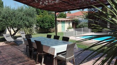 Photo for Ideal family vacation! Villa in peace, with swimming pool and without opposite.