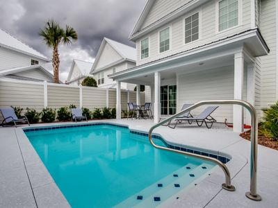 Photo for Summer Special Rates! Stunning Home with Private Pool That Can Be Heated in North Beach Plantation