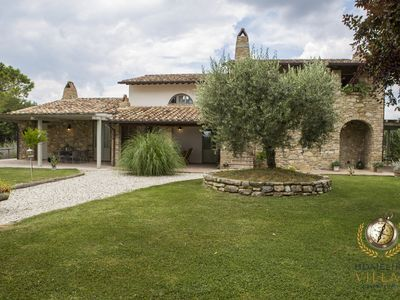 Photo for Villa il Segreto, with eco-friendly and private swimming pool