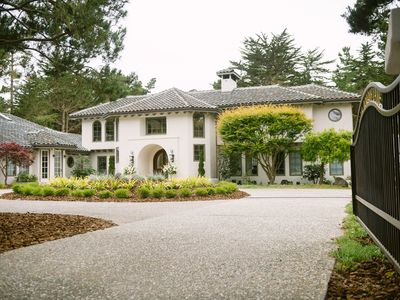 Photo for US OPEN in Pebble Beach, 1.5 miles to The Lodge, Spectacular private estate