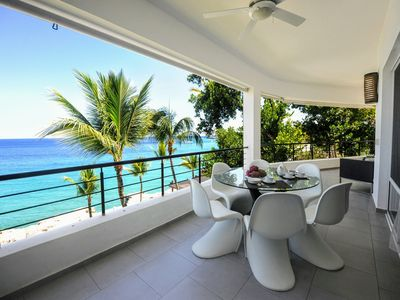 Photo for Breathtaking Oceanview Brand New Deluxe Penthouse Private Beach