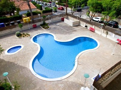 Photo for Bright apartment in Salou for 4 Pers 1 bedroom near Port Aventura