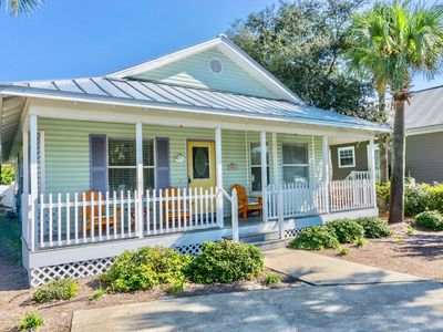 Photo for Beachy Keen~Pet friendly with Private pool & easy beach access.