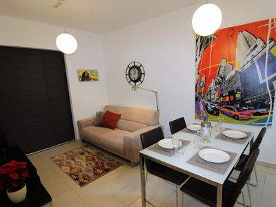 Photo for Trendy modern apartment close to Spinola Bay