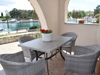 Photo for Beautiful apartment Blue dream 2 - 10 meters from the sea