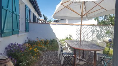 Photo for PROMO JUNE-JULY: Family house in La Flotte close to the beach and the port