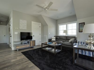 Photo for Walk to town of Highlands, brand new 2 BR/2 BA apartment - Sleeps 6!