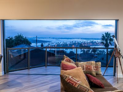Photo for Panoramic Bay and Ocean Views in Newly Built House!