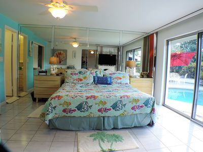 Photo for Beach 1.3 mile! Clean & ultra comfy, 4/3, pool, toys, endless freebies, 5 stars!