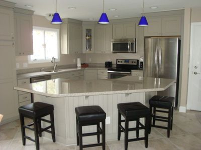 Brand new Kitchen with Island, all stainless appliances