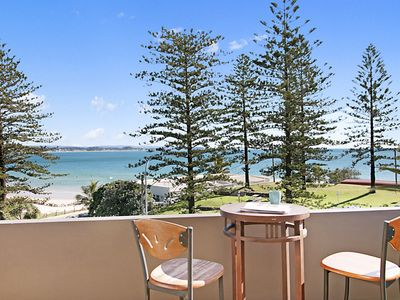 Photo for Rainbow End Unit 4 - Balcony with ocean views overlooking Rainbow Bay Coolangatta