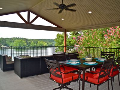Photo for Stunning Lake Hamilton Views! (Covered boat stall included)