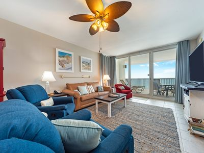 Photo for New Listing! Gorgeous VIP oceanfront condo w/ large balcony! 2 Pools, free WiFi!