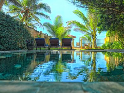 Photo for Moonstone Villa a hidden gem on an almost private beach on the Indian Ocean.