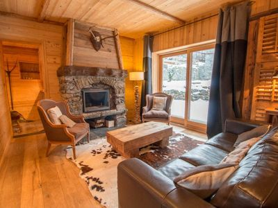 Photo for Authentic Chalet SKI IN-SAUNA in Chandon!