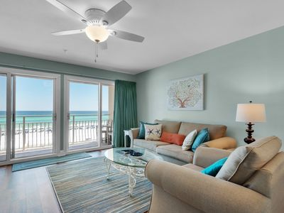 Photo for Incredible Condo With Gulf View! Grill, Pools, Beach Access, Nearby Shops & Restaurants!