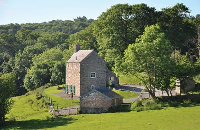Photo for Lletty is an historic three storey Grade II listed self-catering farmhouse with fine views.