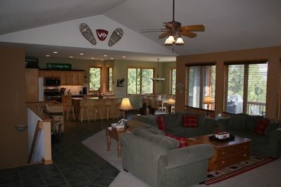 Terrific great room for family gatherings.