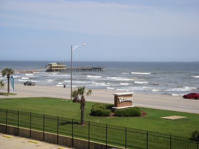 Photo for Direct Gulf & Beach Front. Ocean/Pool & Fishing Pier View