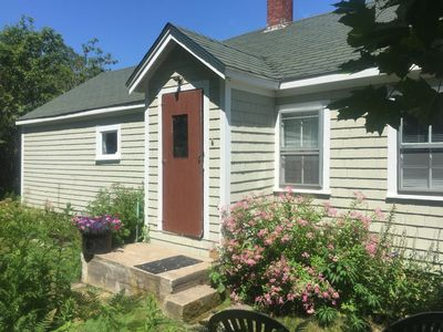 Photo for Garden cottage w/ 4 kayaks/gear/dock/parking access on Stonington Harbor nearby