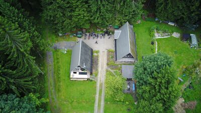 Photo for Finnhütte as a group accommodation directly at the forest with large barbecue area, campfire