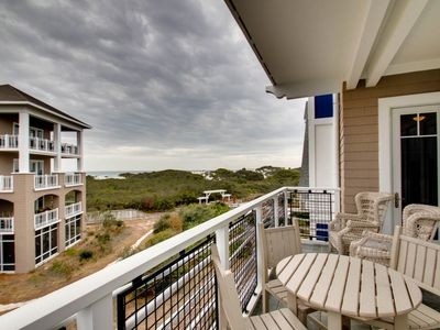 Photo for Executive Access Home! Gulf Views! Steps from Beach Access & Pool!