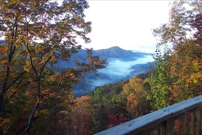 Picture yourself standing on the deck enjoying the view