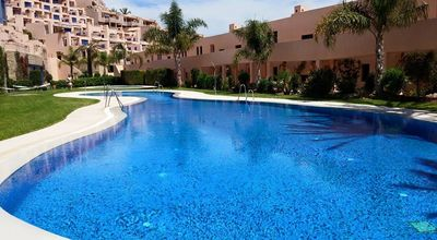 Photo for One bedroom apartment with sea views in Atalaya de Mojacar, Mojacar