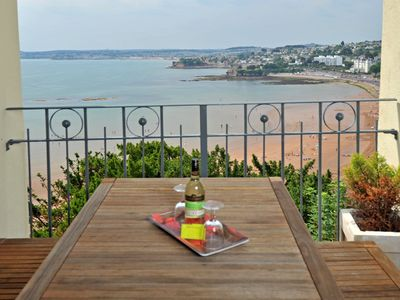 Photo for 15 Astor House - two bed family apartment with stunning sea views and own balcony
