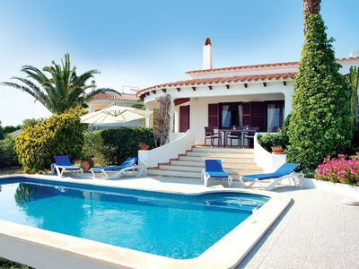 Photo for 3 bedroom Villa, sleeps 6 in Binibèquer Vell with Pool, Air Con and WiFi