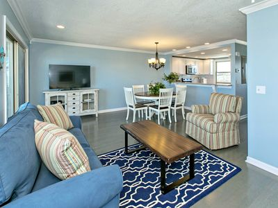 Photo for Oceanfront, Beautiful Townhome-Few great dates left in July!