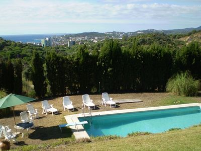 Photo for House with private pool and garden, near the beach for 8 people