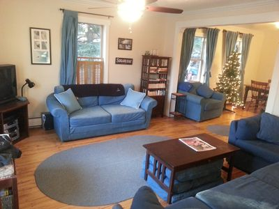 Photo for 3-bedroom House North Of Sugarloaf Mtn, Gas Fireplace, WiFi