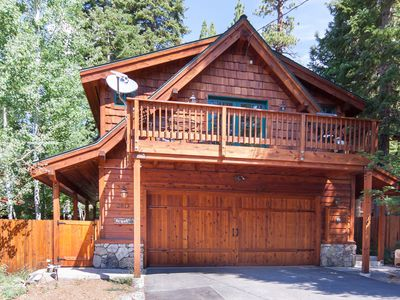 Photo for Sierra View Retreat, Tahoe City, North Lake Tahoe, Dog friendly
