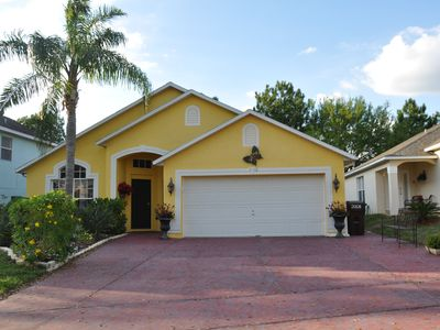 Photo for Disney Area Vacation Home - Golf View - Private Pool - WiFi - 3 BR