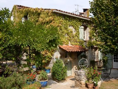Photo for Beautiful old stonehouse with own wine yard near Fayence