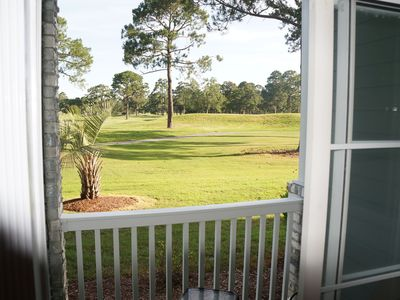 Photo for NO Stairs - Ground Floor with Beautiful Golf Course view