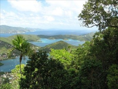 You'll love the stunning view of the BVI's from St. John rental, Monkey No Climb